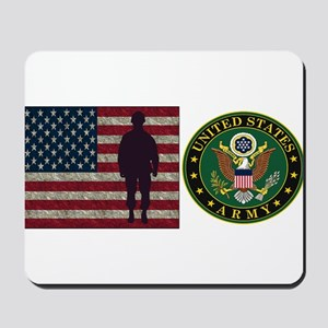 USArmy Symbol Flag PP Mousepad