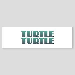 Turtle Turtle Bumper Sticker