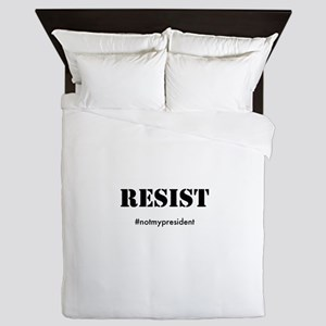 RESIST Queen Duvet