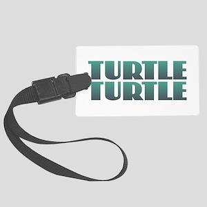 Turtle Turtle Large Luggage Tag