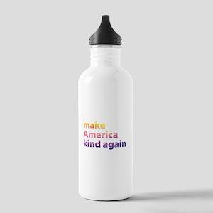 make America kind again Water Bottle