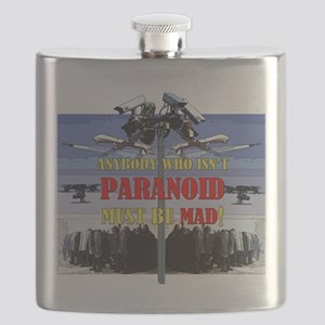 Anybody who isnt paranoid must be Mad! Flask
