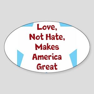 Love Makes America Great Sticker