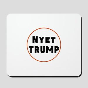 Nyet Trump, No Trump/Putin Mousepad