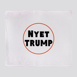 Nyet Trump, No Trump/Putin Throw Blanket