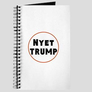 Nyet Trump, No Trump/Putin Journal