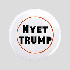 Nyet Trump, No Trump/Putin Button