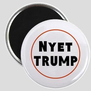 Nyet Trump, No Trump/Putin Magnets