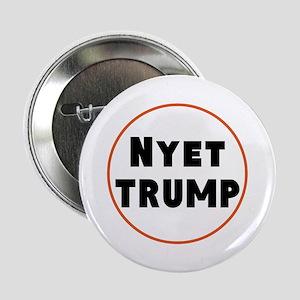 """Nyet Trump, No Trump/Putin 2.25"""" Button"""