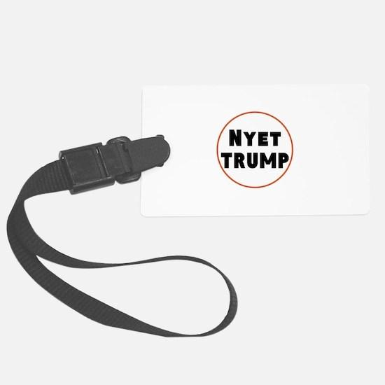 Nyet Trump, No Trump/Putin Luggage Tag