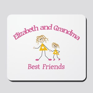 Elizabeth & Grandma - Best Fr Mousepad
