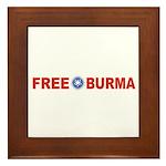 Free Burma Framed Tile