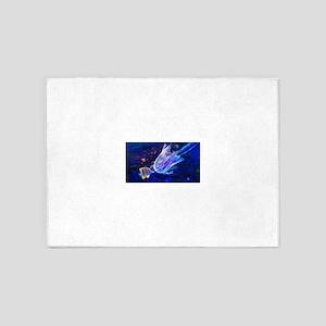 Jellyfish Beauty 5'x7'Area Rug