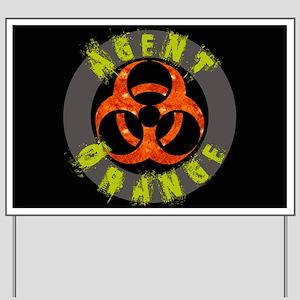Agent Orange Yard Sign