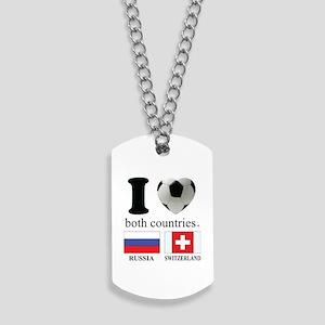 RUSSIA-SWITZERLAND Dog Tags