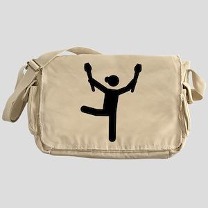 Gymnastics gymnast Messenger Bag