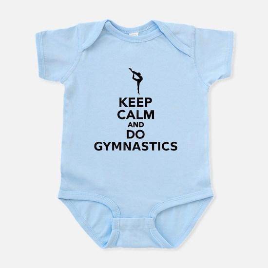 Keep calm and do gymnastics Body Suit