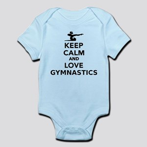 Keep calm and love gymnastics Body Suit