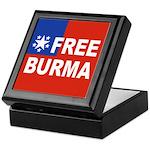 Free Burma Keepsake Box