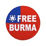 "Free Burma 3.5"" Button"