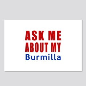 Ask Me About My Burmilla Postcards (Package of 8)