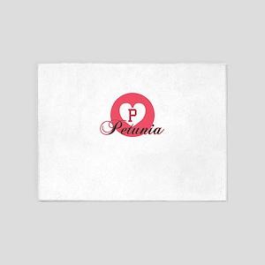 petunia 5'x7'Area Rug