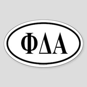 PHI DELTA ALPHA Oval Sticker