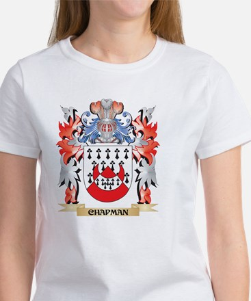 Chapman Coat of Arms - Family Crest T-Shirt
