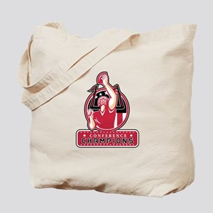 Football Conference Champions Atlanta Retro Tote B