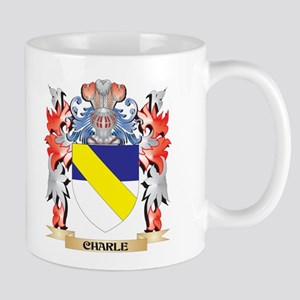 Charle Coat of Arms - Family Crest Mugs