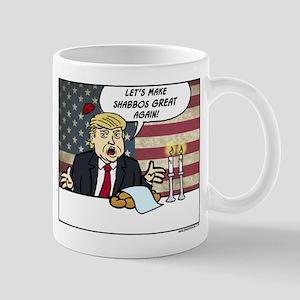 Trump Make Shabbos Great Again Mug Mugs