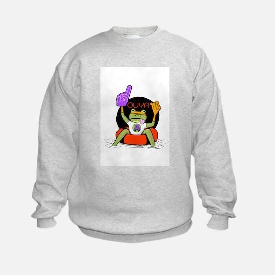 Amazing Frog_OUYA_3 Sweatshirt