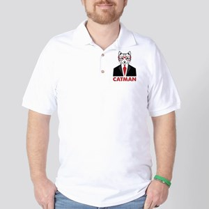 Catman Golf Shirt