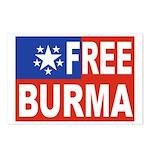 Free Burma Postcards (Package of 8)