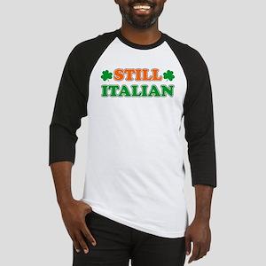 Still Italian Irish Shamrock Baseball Jersey