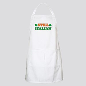 Still Italian Irish Shamrock Apron