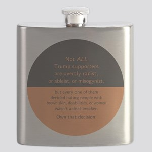 Trump Supporters Flask