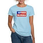Free Burma Women's Light T-Shirt