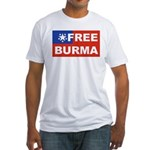 Free Burma Fitted T-Shirt