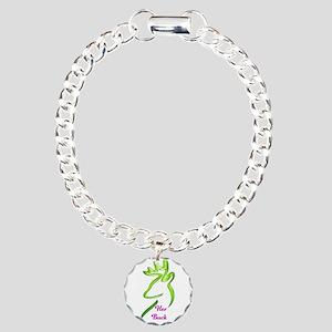 her buck Charm Bracelet, One Charm