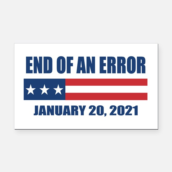 End of an Error 2021 Rectangle Car Magnet