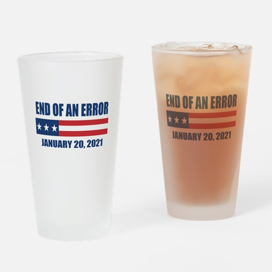 End of an Error 2021 Drinking Glass