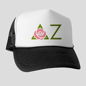 Delta Zeta Letters Trucker Hat