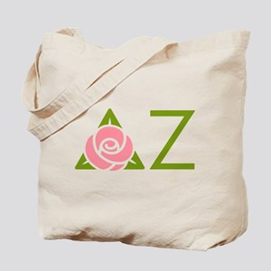 Delta Zeta Letters Tote Bag