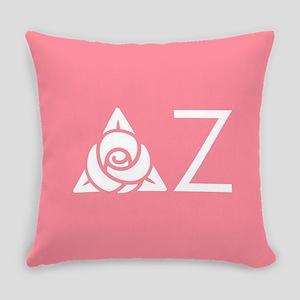 Delta Zeta Letters Everyday Pillow