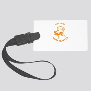 duck hunter Large Luggage Tag