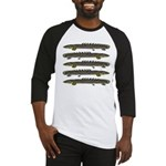 Ornate Bichir Baseball Jersey
