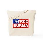 Free Burma Tote Bag
