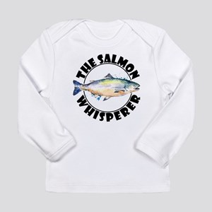 The Salmon Whisperer Fishing S Long Sleeve T-Shirt