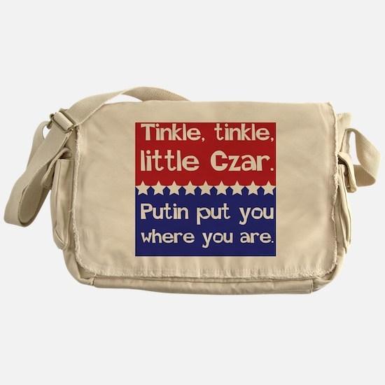 Tinkle Tinkle, Little Czar Messenger Bag